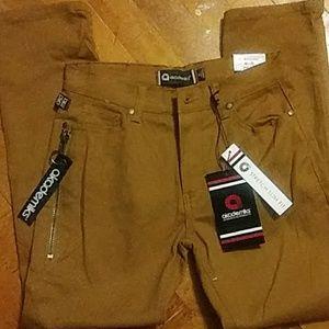 NWT boys sz 14 Akademiks bronze-colored jeans
